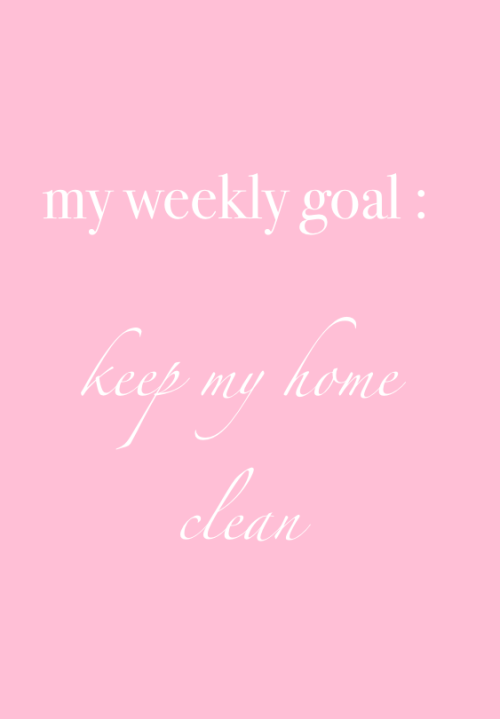 keep my home clean