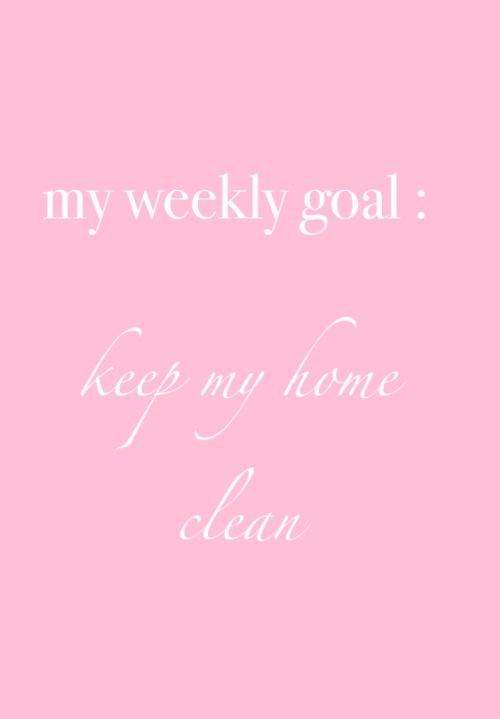 keep my home clean