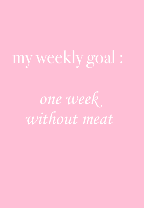 one week without meat