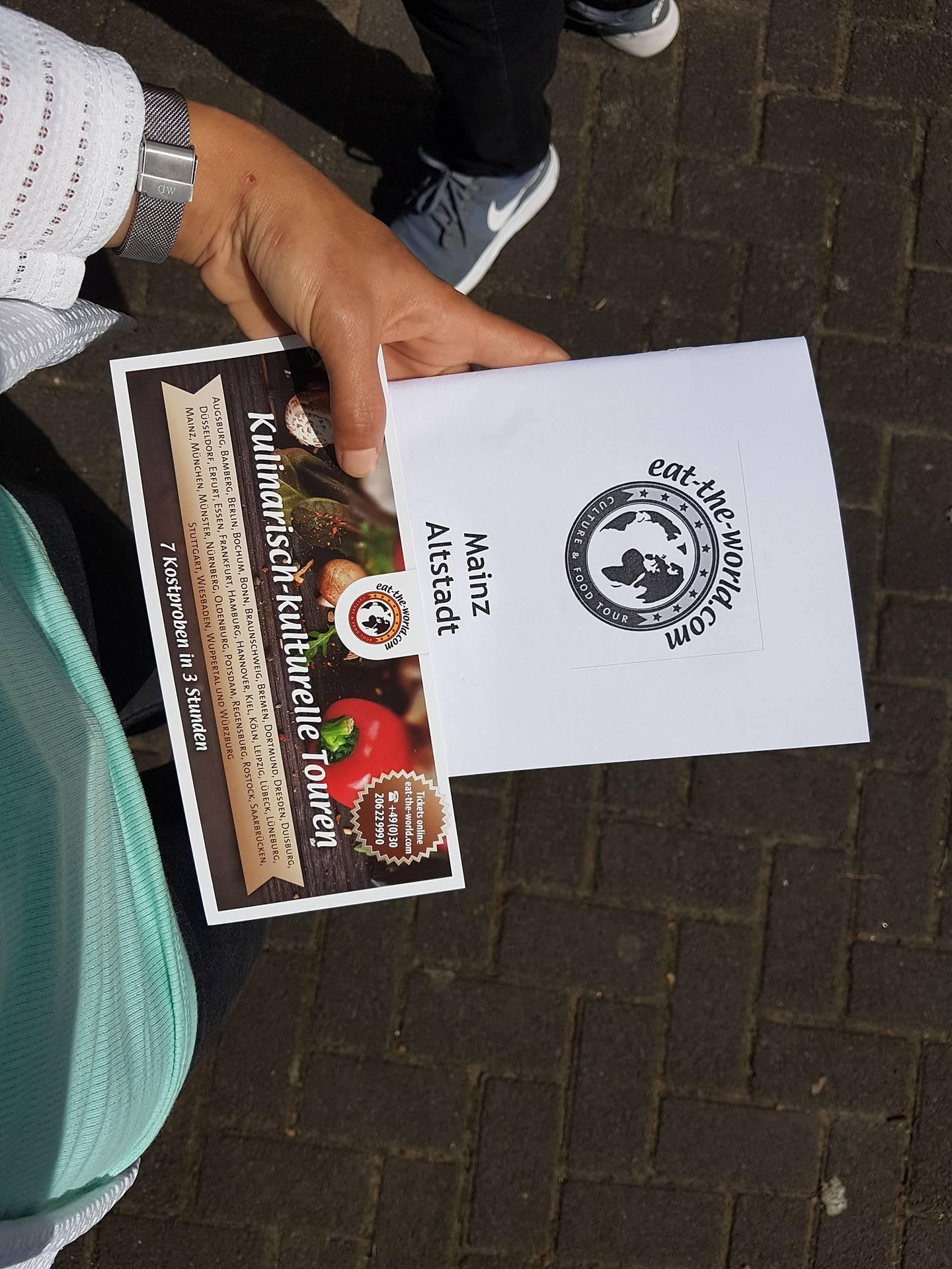 eat the world Genusstour Flyer