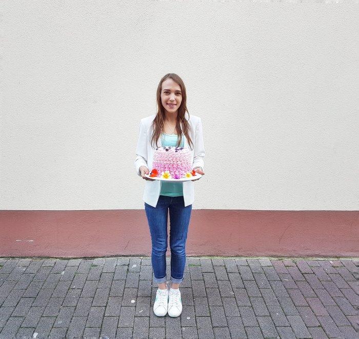 Jasmins 23. Geburtstag Torte Baristaz 1