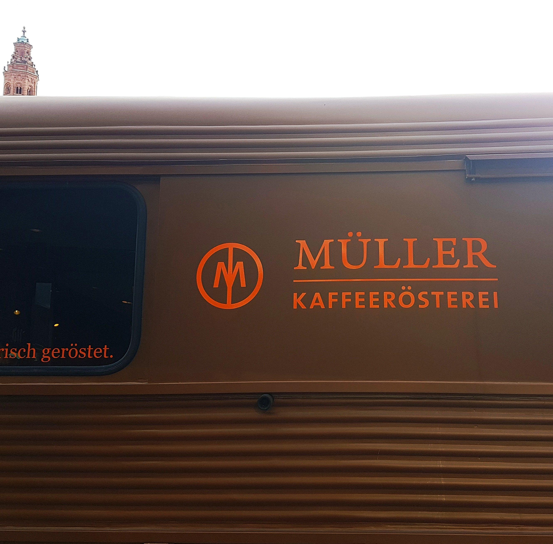 Müller Kaffee Wagen
