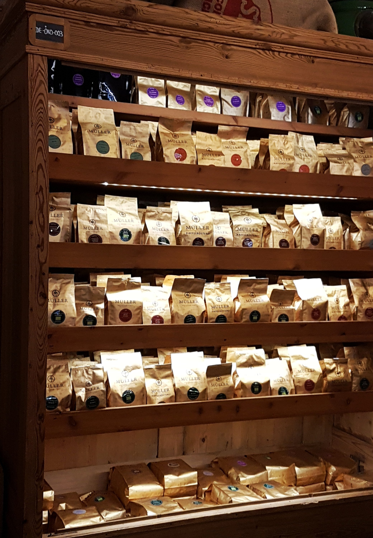 Müller Kaffee Sorten