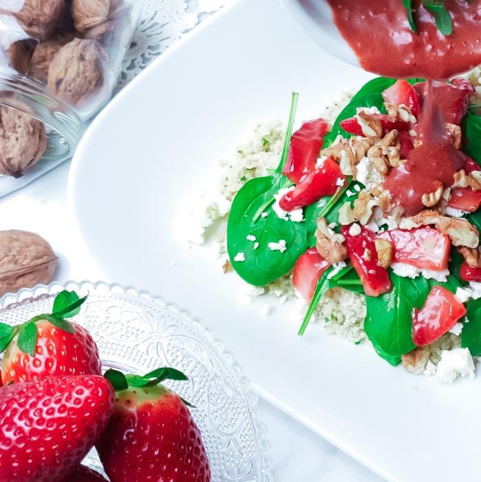 Erdbeersalat Soße