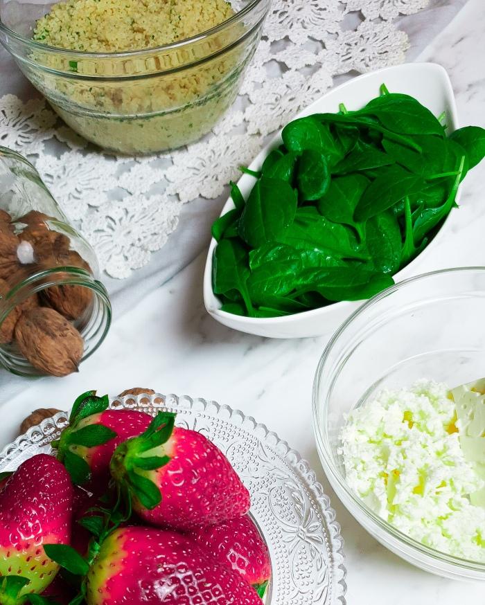 Erdbeersalat Zutaten