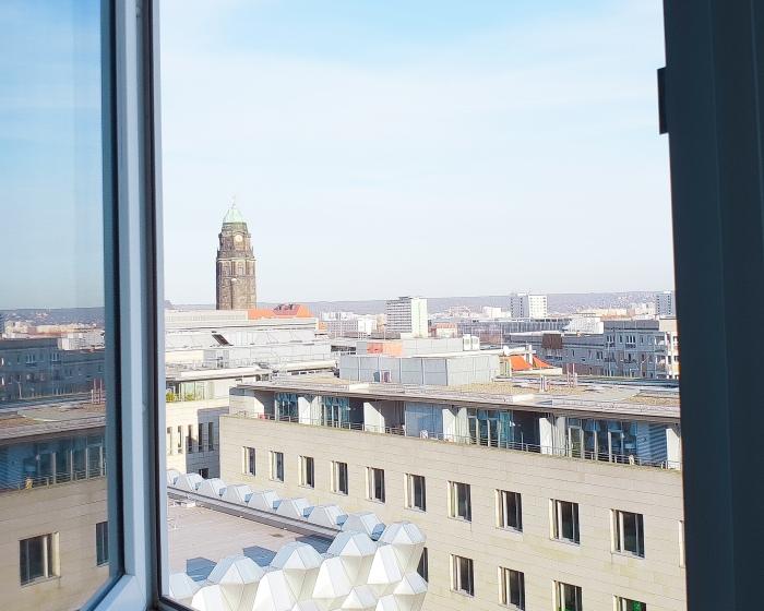 the student hotel Dresden Aussicht Zimmer